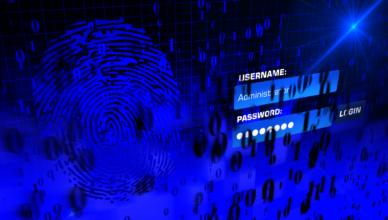 login page illustration username password